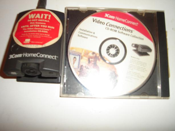 3Com home connect web-cam