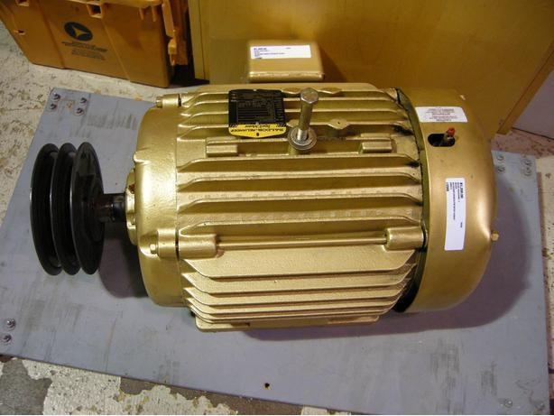 Make an offer on a baldor 20 hp 3 phase electric motor for 20 hp 3 phase motor