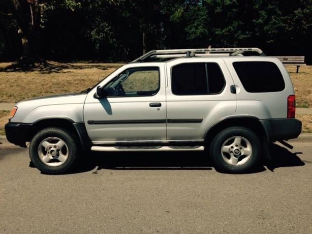 nissan xterra 2001 4x4 with tow package cedar nanaimo. Black Bedroom Furniture Sets. Home Design Ideas