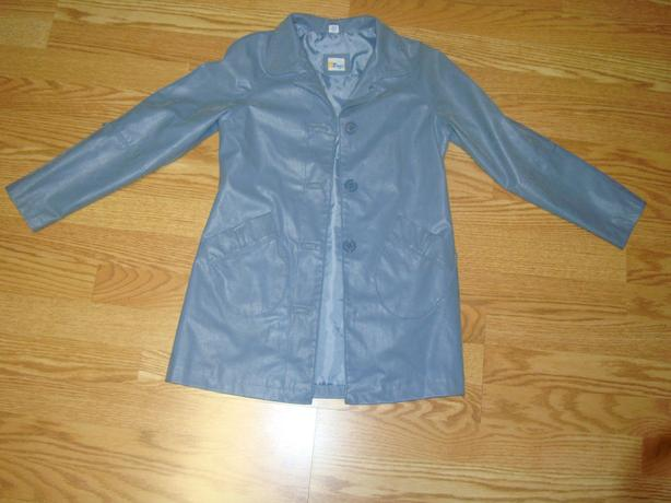 Like New Jacket Coat Blue Suede Youth Size S - $8