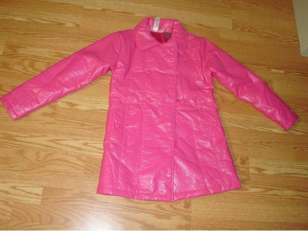 Like New Coat Pink Hannah Montanna Youth Size L - $5