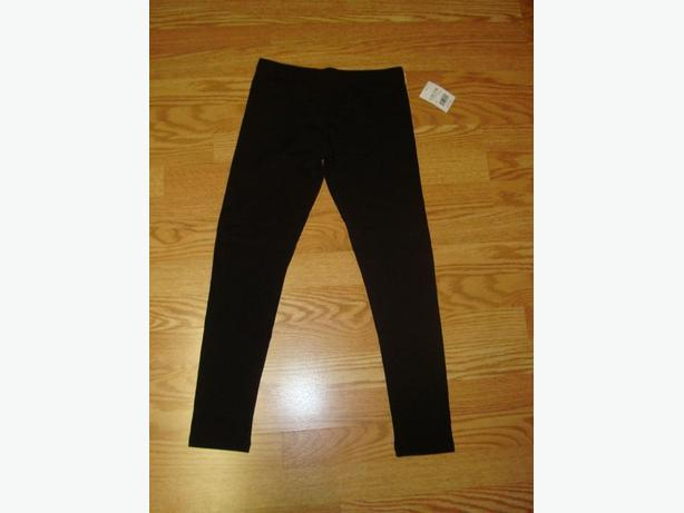 Brand New Black Leggings Pants Tights Youth Size 14 - $5