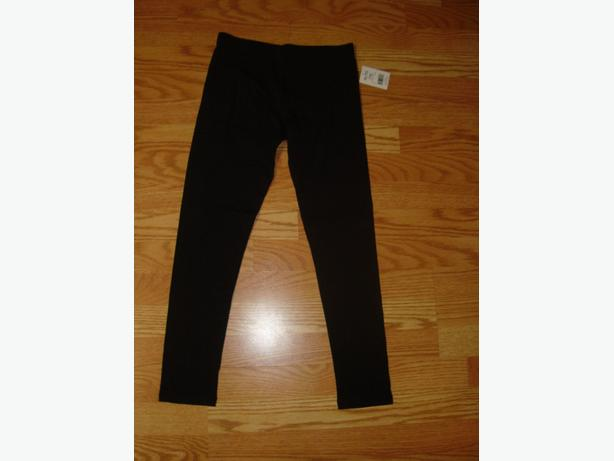 Brand New Black Leggings Pants Tights Youth Size 16 - $5