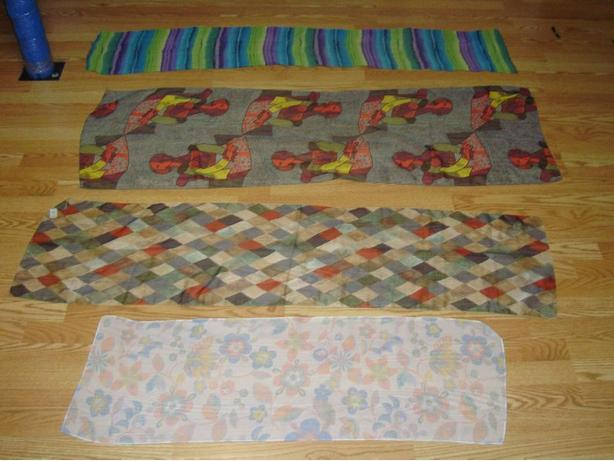 Many Silk Scarves - $5 each
