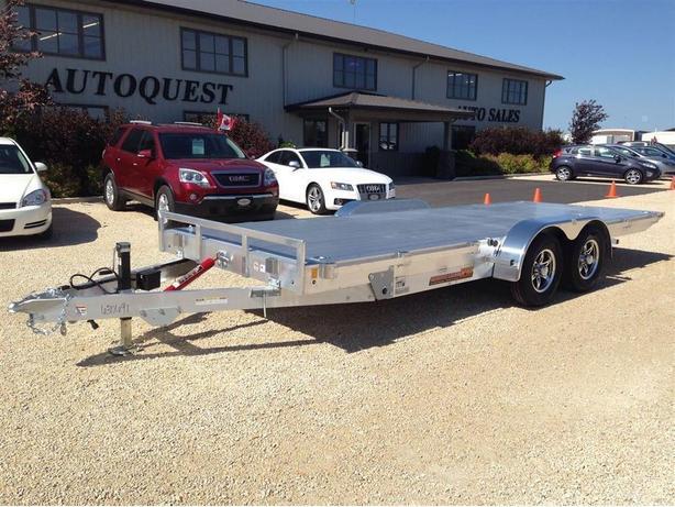 2017 RC Trailers SmoothLoader XM 8.5 X 20 Aluminum Tandem Axle Tilt-Bed - 9900K