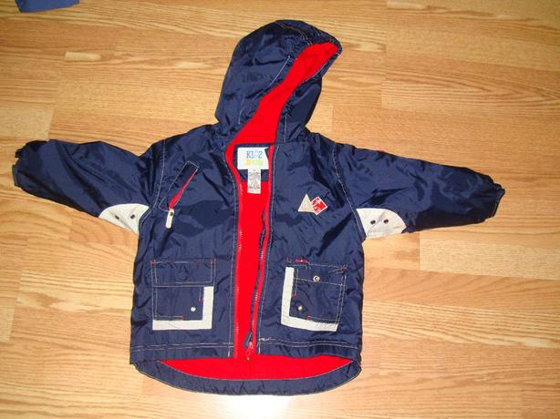 Like New Fall Coat Jacket Size 3 Toddler - $5