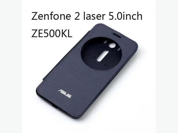 Quick Circle Window View Flip Back Case for ASUS Zenfone 2 Laser