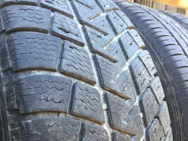 Installed and balanced Set of 4 225 65 17 Michelin alpine