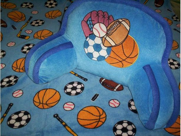 Sports Blanket and Cushion
