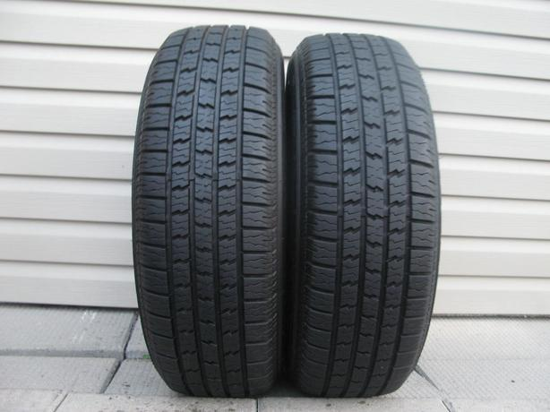 TWO (2) HERCULES MRX PLUS IV TIRES /215/70/14/ - $60