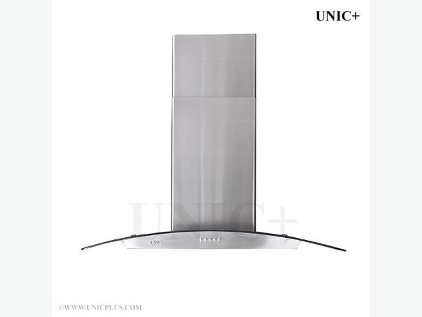 "New 36"" Stainless Steel Island Kitchen Range Hood Exhausting Fan"