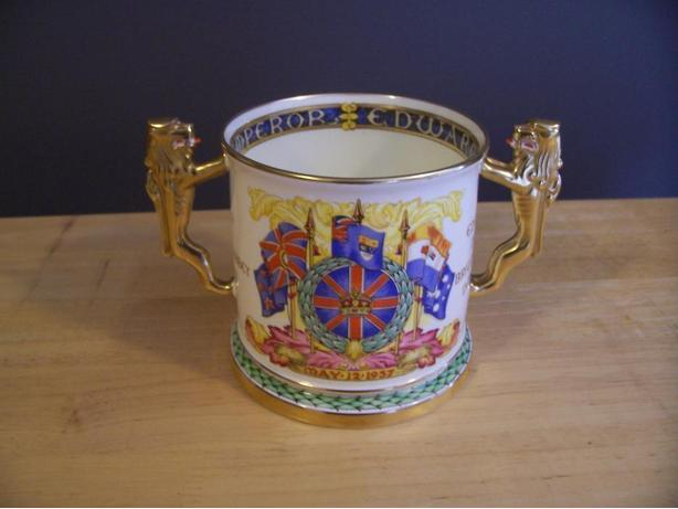 Paragon Loving Cup to commemorate coronation of HM King Edward V111