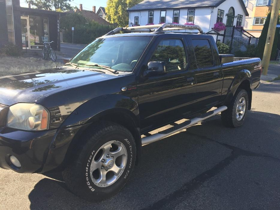 2002 Nissan Frontier Supercharged Victoria City Victoria