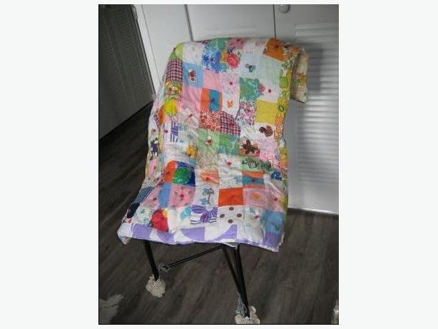 Homemade Baby Quilt or Lap Quilt for Gramma