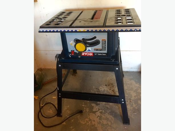 Ryobi 10 Table Saw Saanich Victoria