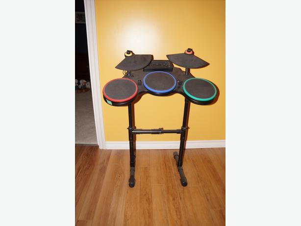 Playstation 3 Rock Band & Guitar Hero Drum Set