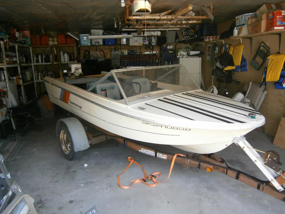 1980 Peterborough 14 5 Ft 60 Hp Motor Fish Finder And