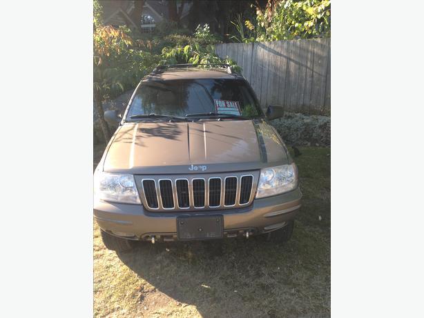 2001 jeep Grenada Cherokee limited