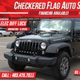 2014 Jeep Wrangler UNLIMITED RUBICON W/ ELEC DIFF LOCK-NAV-6 SPD