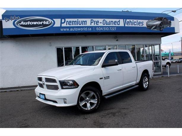 2014 ram 1500 sport crew cab 4wd outside okanagan kelowna. Black Bedroom Furniture Sets. Home Design Ideas