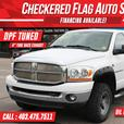 "2006 Dodge Ram 2500 SLT DIESEL W/ 4X4-DPF TUNED-4"" TUBE EXHAUST"
