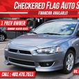 2013 Mitsubishi Lancer 10th ANNIV-SUNROOF-1 OWNER-HEATED SEATS