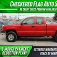 2003 CHEVROLET SILVERADO 2500HD EXTENDED CAB 4X4 4:10 Rear End