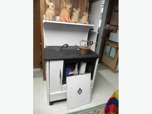 Classic wood burning kitchen stove