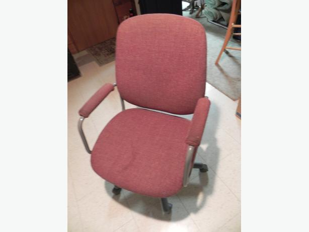 Two office desk chairs  $25 each