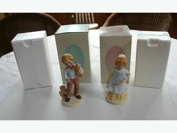 Two Avon Porcelain Figurines