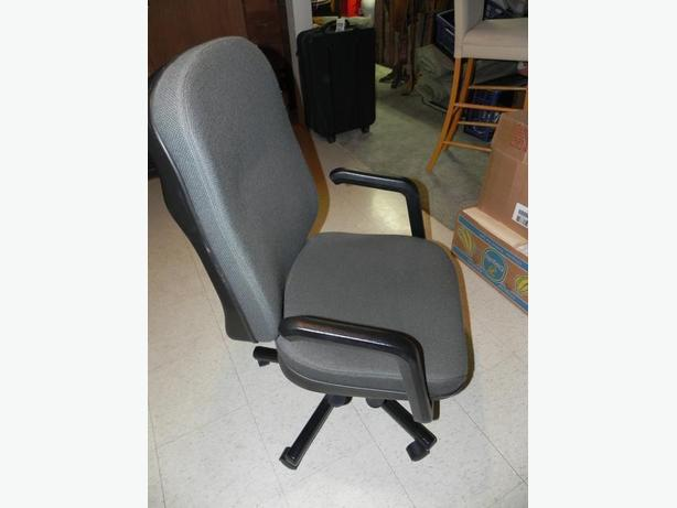 Two office desk chairs at $25 each