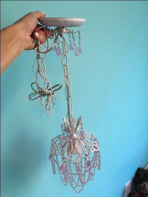 Girls Vintage Chandelier Paid 149 Never Hung Saanich
