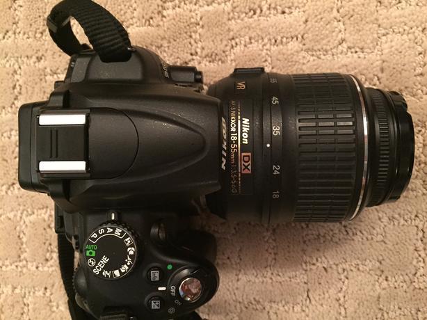 Nikon D5000 12.3 MP DX Digital SLR Camera with 18-55mm lens