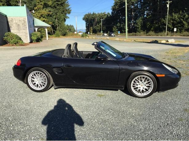 2002 Porsche Boxster, Power Convertible Top, Only 127,532 Kms
