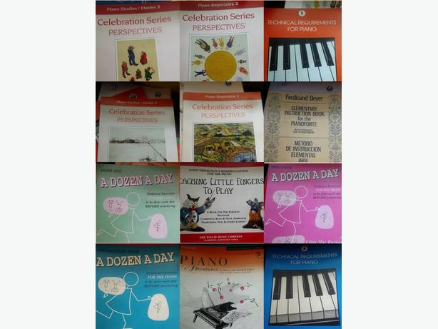 *Piano Books for Sale*