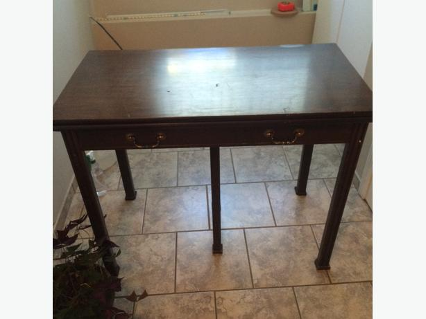 Antique Project Table