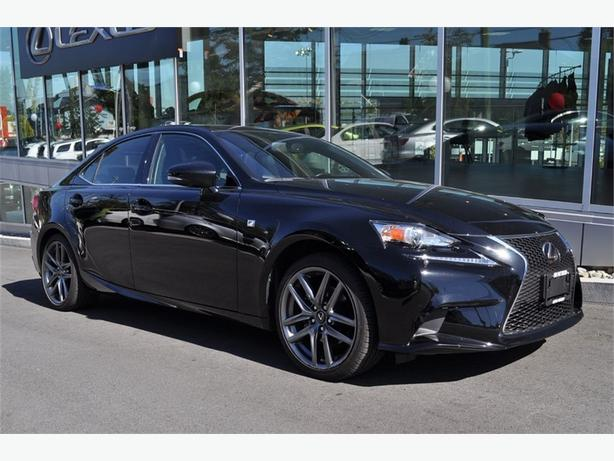 2014 Lexus IS 250 F Sport Series 3 NO ACCIDENTS LOCAL VICTORIA ONE O