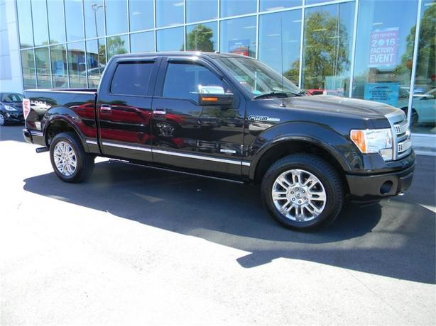 2012 Ford F-150 Platinum NO ACCIDENTS LOCAL B.C. ONE OWNER