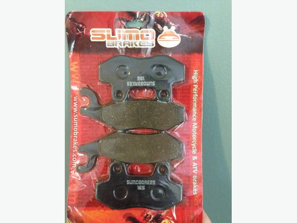 DRZ400 front rear brake pads