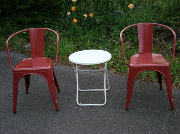 Brand New Carlisle Dining Chairs and Table