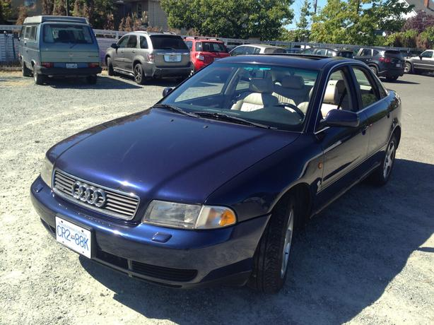 1997 audi a4 quattro weight loss
