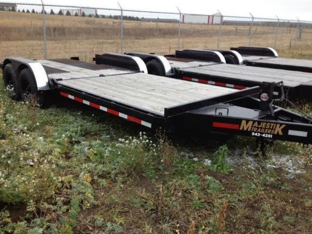 Bobcat Trailer Fenders : Majestik ft l bobcat tilt trailer rural regina