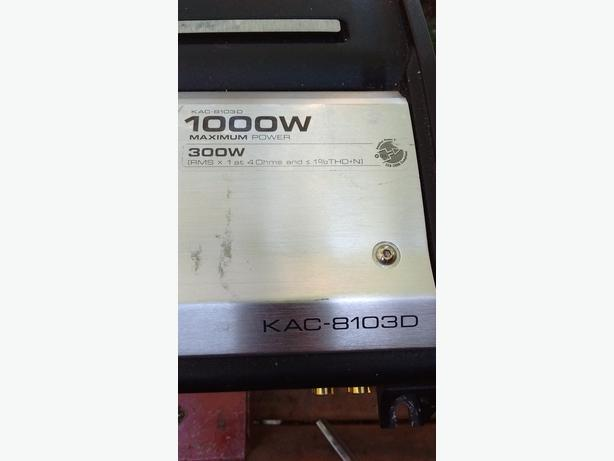 1000 WATT KENWOOD MONO AMP