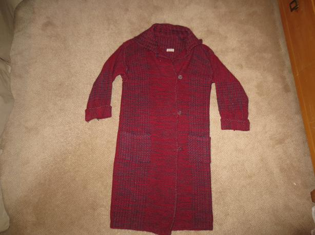 Hand Woven Wool Sweater Coats