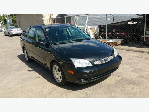 2005 ford focus zx4 st sedan low kms north regina regina. Black Bedroom Furniture Sets. Home Design Ideas