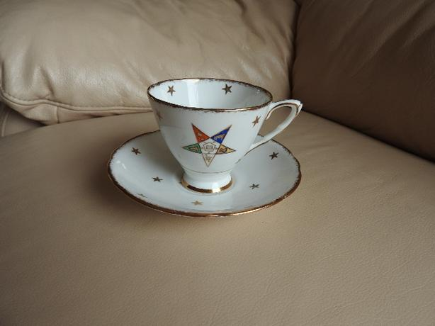 Teacup/saucer - Eastern Star