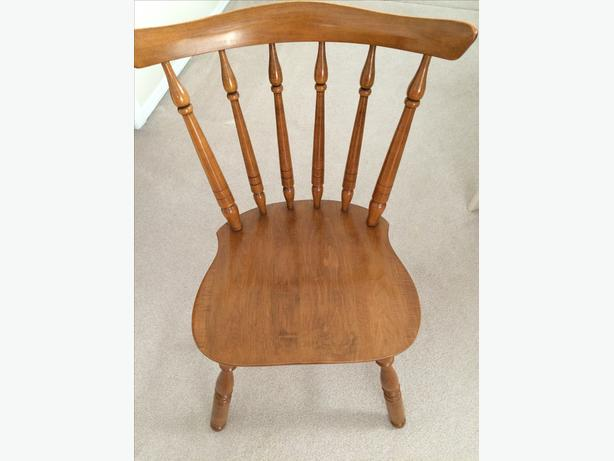 Vilas Maple Dining Table And 6 Chairs Esquimalt Amp View