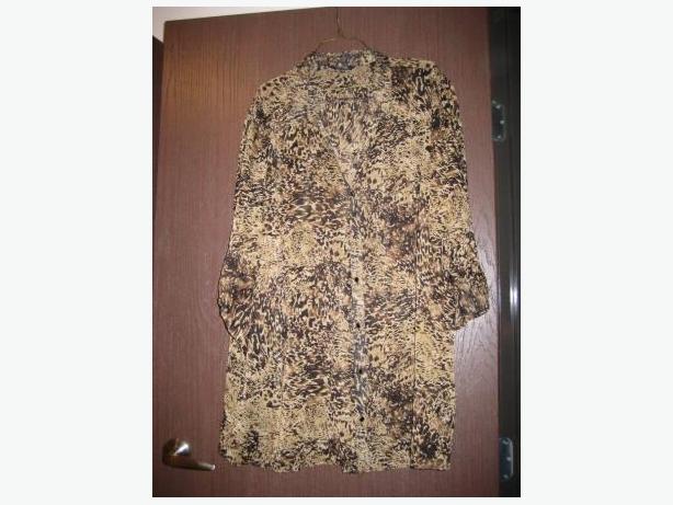 Variety of Ladies Plus-sized blouses