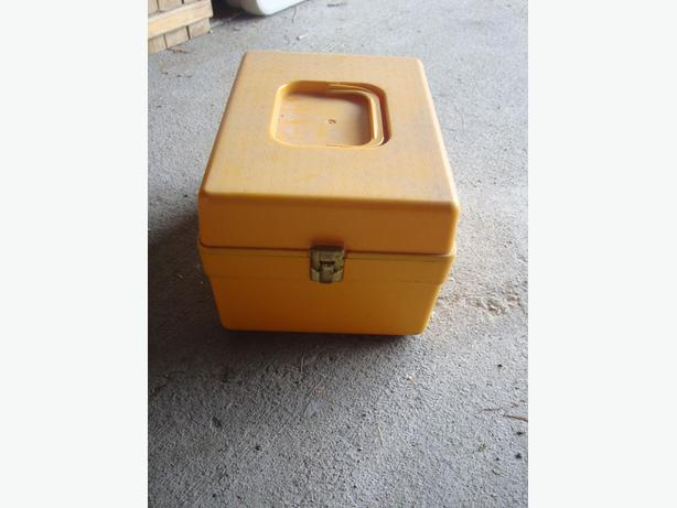 Yellow Toolbox, Item Holder or Organizer - $4