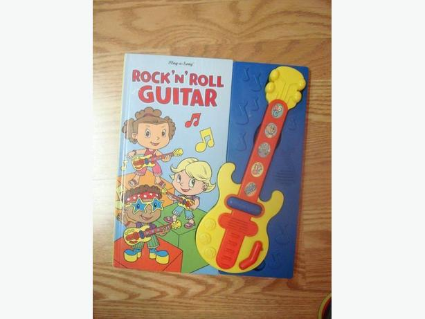 Like New Guitar Rock and Roll Book - $1